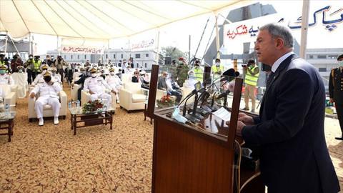 Milli Savunma Bakanı Akar: Pakistan ve Türkiye Azerbaycan'da kör, sağır ve dilsiz olmadı