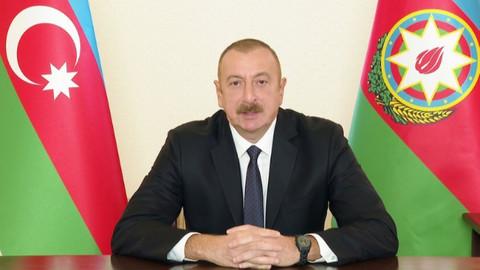 Aliyev'den 29 Ekim mesajı!