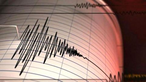 Ege Denizi'nde 4.8 büyüklüğünde deprem!