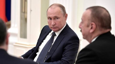 Putin'den Karabağ çıkışı: Uzun vadeli barış umuyorum