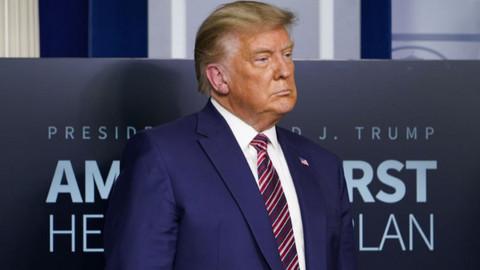 Trump'tan Kongre baskını açıklaması