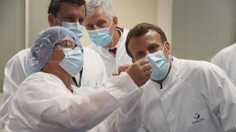 Fransa'nın koronavirüs aşı kampanyasındaki yavaşlığı alay konusu oldu