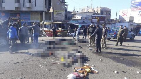 Bağdat'ta patlama: Çok sayıda kişi öldü