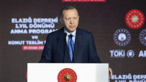 Erdoğan'dan Elazığlılara müjde:  ikinci etap konutlar 6 ay içerisinde tamamlanacak