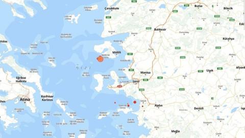 İzmir'de peş peşe 5 deprem!
