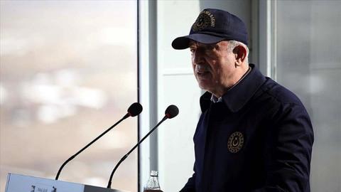 Milli Savunma Bakanı Akar: En son terörist etkisiz hale getirilinceye kadar mücadelemiz sürecek