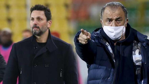 Galatasaray-Alanyaspor maçında Erol Bulut detayı