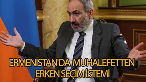 Ermenistan'da muhalefetten erken seçim istemi