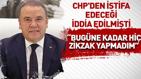 CHP'den istifa edeceği iddia edilmişti! Böcek: Bugüne kadar hiç zikzak yapmadım