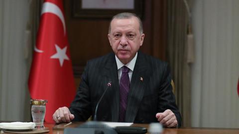 Erdoğan: Tüm kalbimizle TSK'nın yanındayız