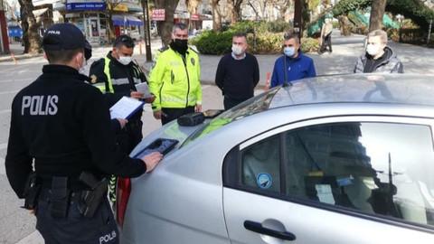 """""""Yeditepe Huzur"""" asayiş uygulamasında aranan 501 kişi yakalandı"""