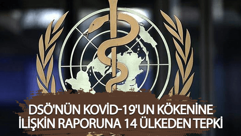 DSÖ'nün Kovid-19'un kökenine ilişkin raporuna 14 ülkeden tepki