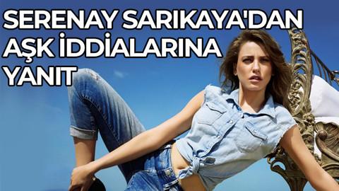 Serenay Sarıkaya'dan aşk iddialarına yanıt: Yapılan yorumları kınıyorum