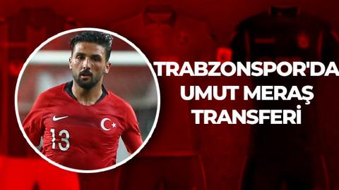 Trabzonspor'da Umut Meraş transferi
