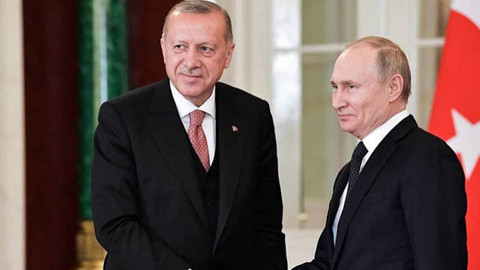 Cumhurbaşkanı Erdoğan Putin ile İsrail saldırılarını görüştü