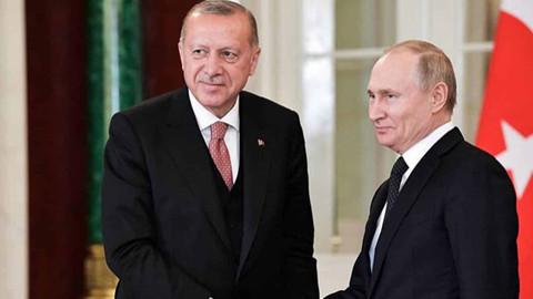 Cumhurbaşkanı Erdoğan Putin ile İsrail saldırılarını görüştü