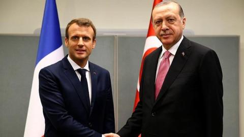 Macron'dan Erdoğan'a mesaj: Birbirimizle konuşmalıyız