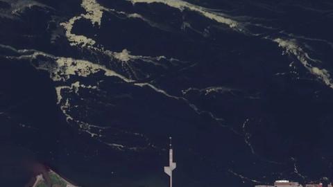 Müsilaj uzaydan böyle görünüyor