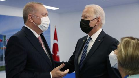 Erdoğan ve Biden Brüksel'de bir araya geldi