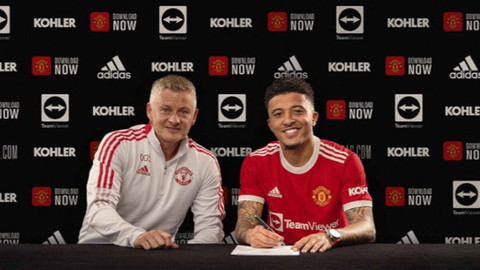 Manchester United, Jadon Sancho'yu transfer etti