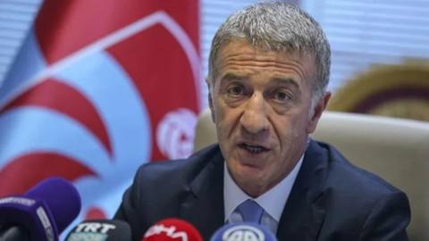 Trabzonspor Başkanı Ahmet Ağaoğlu'ndan flaş Serdar Tatlı açıklaması