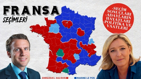 Fransa Seçimleri'nde ilk turun kazananları: Macron ve Le Pen