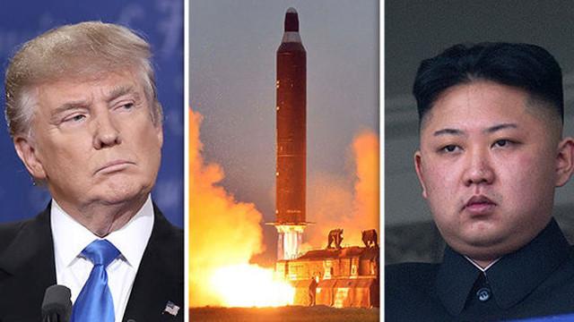 Trump, Kuzey Kore ile görüşmeye açık olduğunu ifade etti