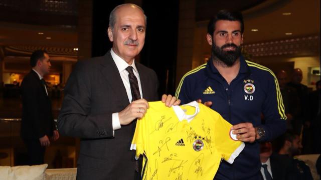 Son dakika! Bakan Numan Kurtulmuş Fenerbahçe'de