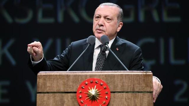 Cumhurbaşkanı Erdoğan:  Sınırlarımızı terörden arındırma operasyonunu Afrin'le devam ettireceğiz