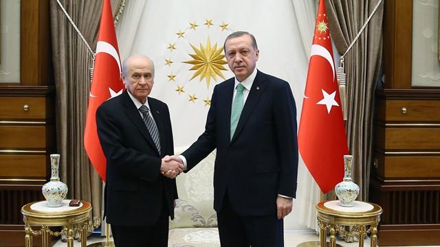 AK Parti ve MHP komisyon çalışmaları bitti. Yarın liderlere sunum yapılacak