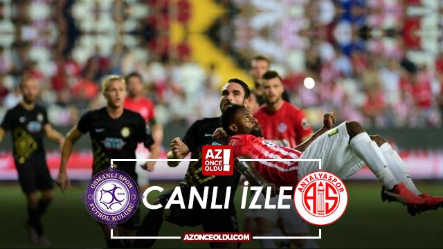 Bein Sports 1 Izle Galatasaray Antalyaspor Canli İzle: Osmanlıspor Antalyaspor Canlı Izle