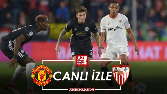 TRT1 CANLI İZLE - Manchester United Sevilla canlı izle - Manchester United Sevilla şifresiz izle