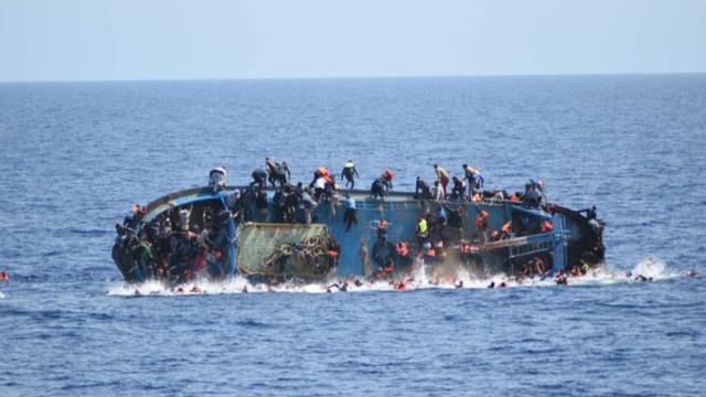 Ege Denizi'nde bot battı