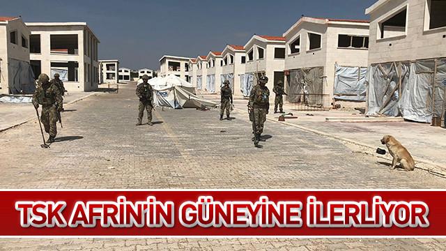 TSK Afrin'in güneyine ilerliyor