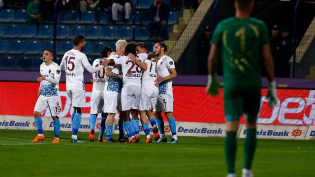 Trabzonspor deplasmanda Osmanlıspor'la 3-3 berabere kaldı