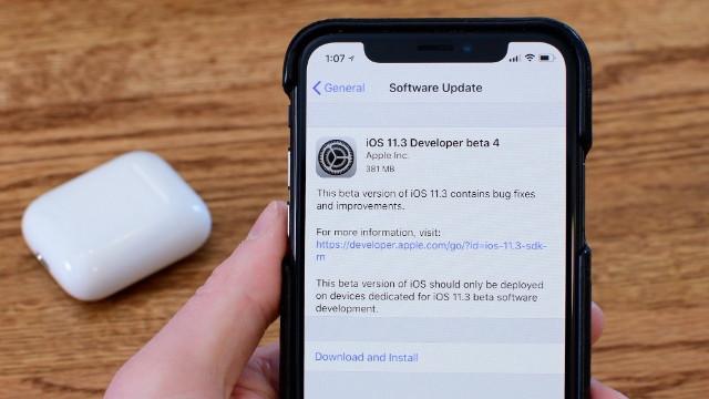 iOS 11.3 Bug sorunu nedir? iOS 11.3 hatası nasıl düzeltilir?