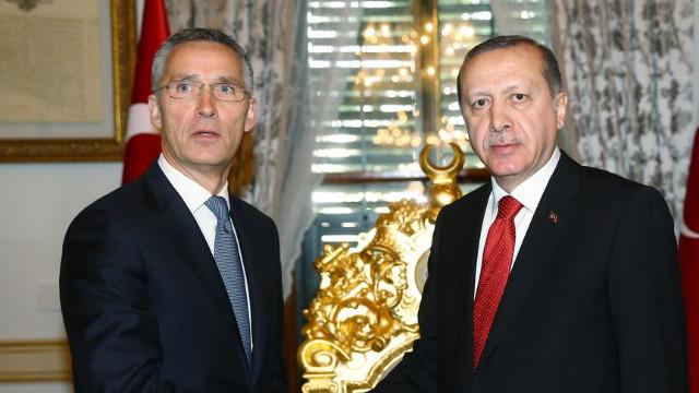 Cumhurbaşkanı Erdoğan ve Stoltenberg görüşmesi sona erdi