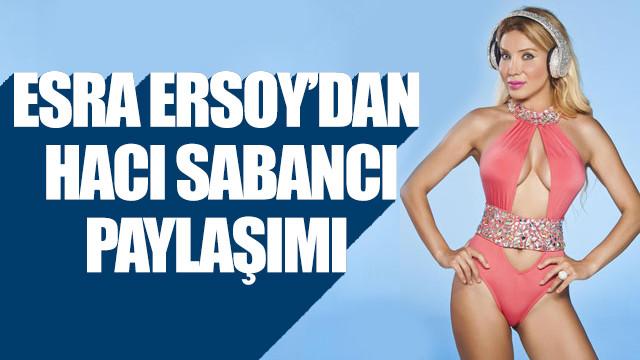 Esra Ersoy, Hacı Sabancı'ya ait olduğunu iddia ettiği konuşmaları yayımladı