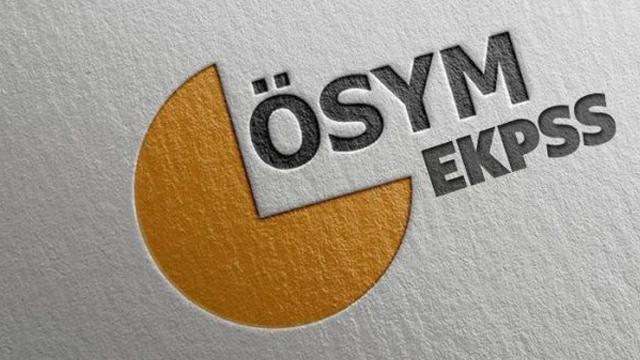 EKPSS sonuçları 2018 - EKPSS sonuç sorgula