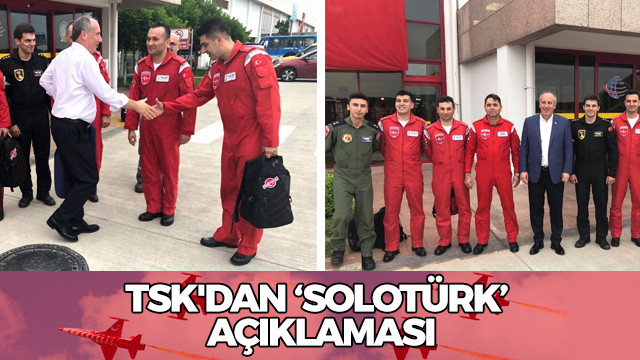 TSK'dan SOLOTÜRK açıklaması