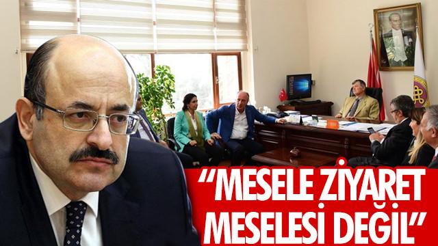 YÖK Başkanı Saraç'tan dekan hakkında açıklama: Mesele ziyaret meselesi değil