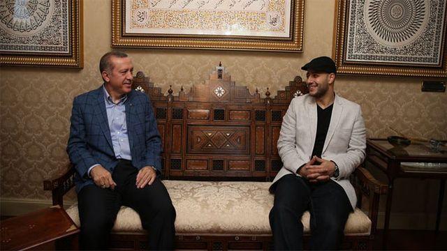 maher zain erdogan ile ilgili görsel sonucu