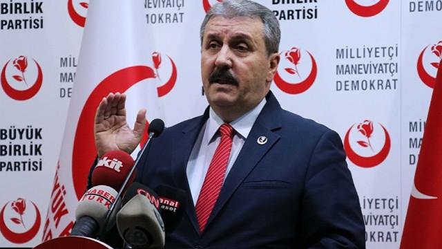 Destici: HDP, PKK'nın siyasi organizasyonudur