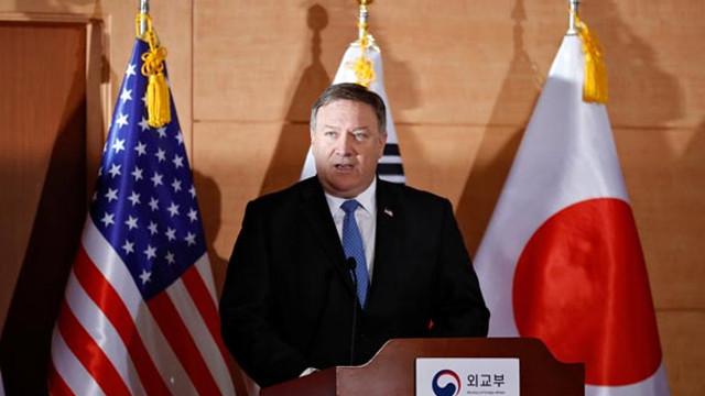 ABD Dışişleri Bakanı Mike Pompeo'dan Kuzey Kore açıklaması
