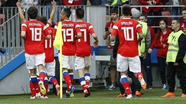 Rusya, Suudi Arabistan'ı 5-0 mağlup etti