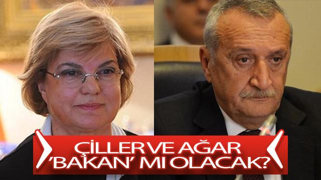 Tansu Çiller ve Mehmet Ağar bakan mı yapılacak?