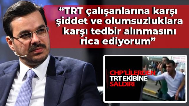 CHP'li grubun saldırısının ardından, TRT çalışanlarına mail gönderdi