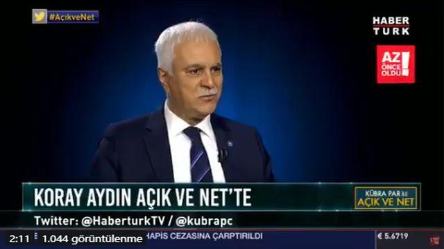 Koray Aydın açıkladı AK Parti ve İYİ Parti'yi bir arada görecek miyiz?
