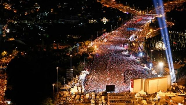 Cumhurbaşkanı Erdoğan, 15 Temmuz Şehitler Köprüsü'nde düzenlenecek yürüyüşe katılacak