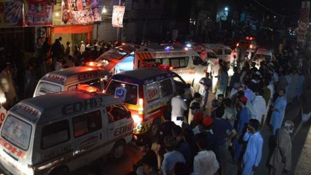 Mitinge bombalı saldırı: 75 ölü